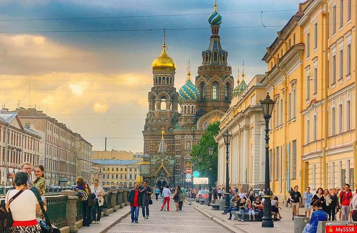 Петербург фото и дети