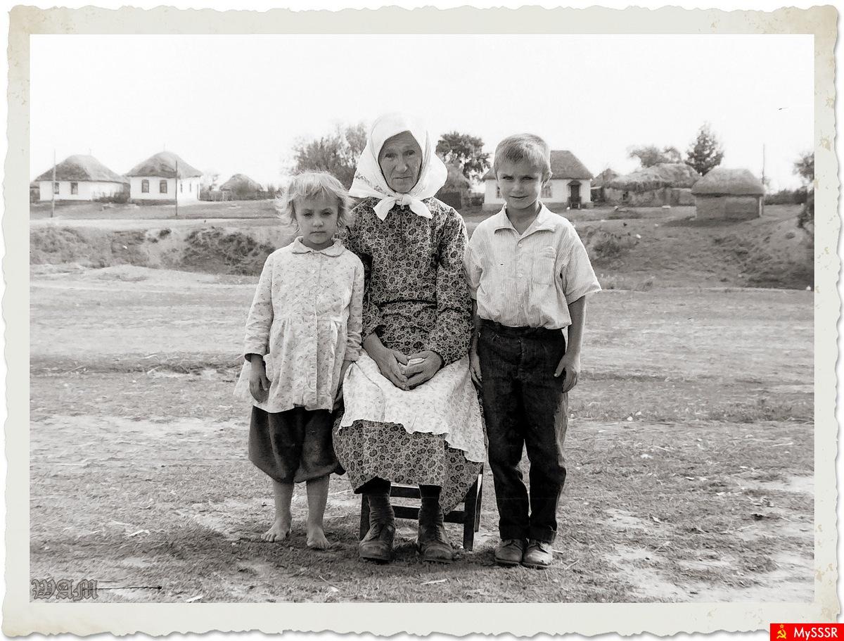Деревенские дети ссср фото